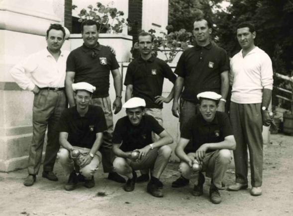 1961 championnat de France triplettes à BEZIERS
