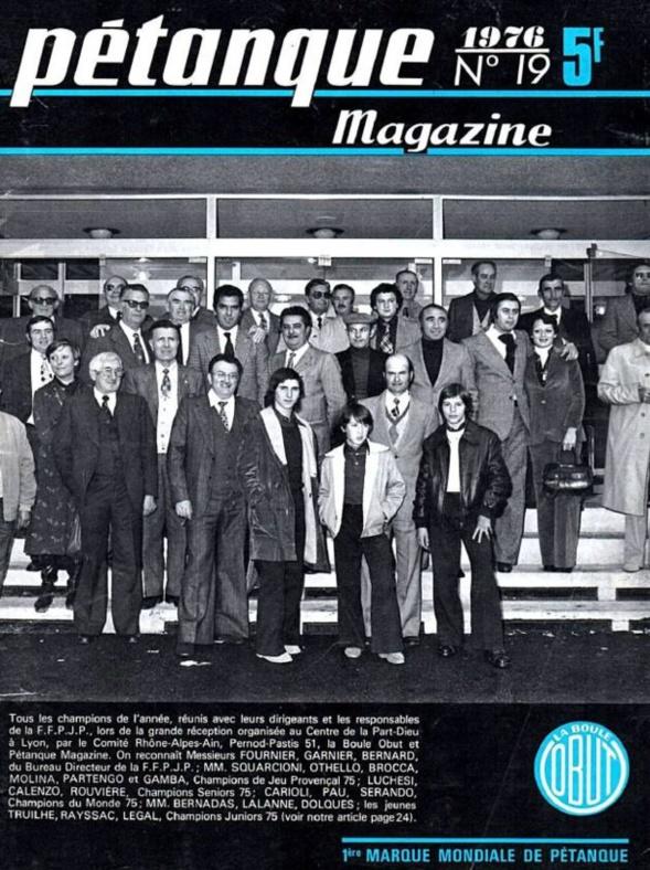 PETANQUE MAGAZINE OBUT DE 1960 à 2013