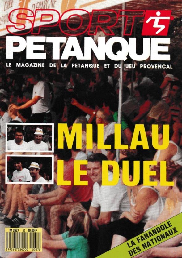 SPORT PETANQUE DE 1984 A 1988