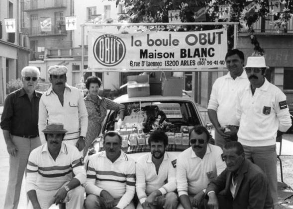 DIGNES 1980 championnat de France doublettes Jeu Provençal