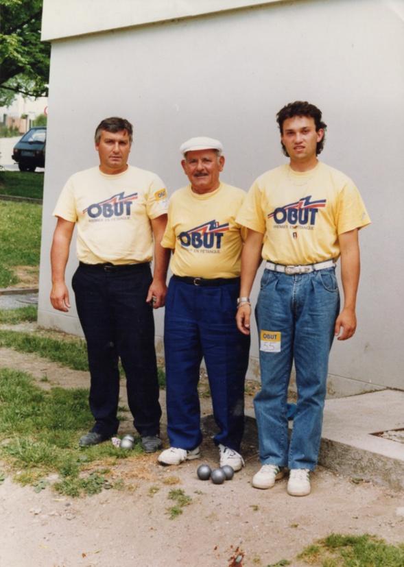 International de FIRMINY l' équipe OBUT du C.A.S. > ARMANDO-CHECCONI-FONI dans les années 90