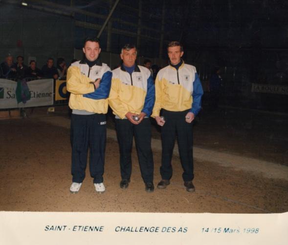 Les vainqueurs du challenge des AS 1998