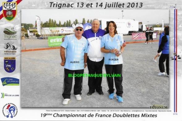 Les championnes triplettes du 06