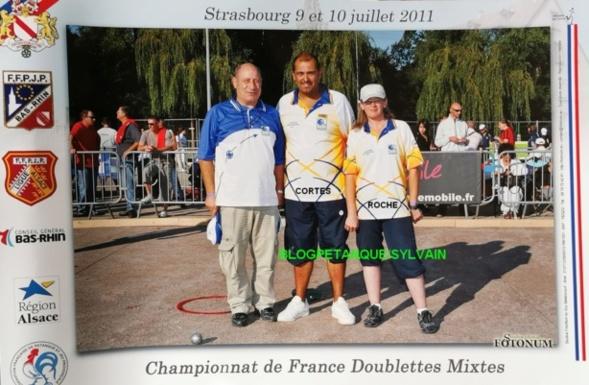 Les champions doublettes mixtes du 06