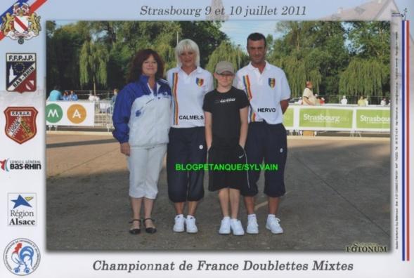 Les vices-champions mixtes du 06 qualifiés par la ligues