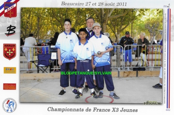 Les vices-champions minimes du 06