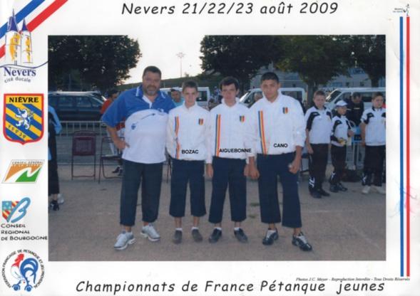 Les vices-champions cadets du 06 qualifiés par la ligue