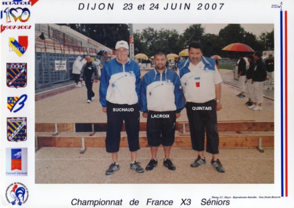 Les champions de France 2006 qualifiés d'office