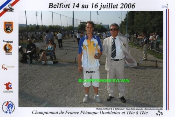 L'année 2006 à la Pétanque