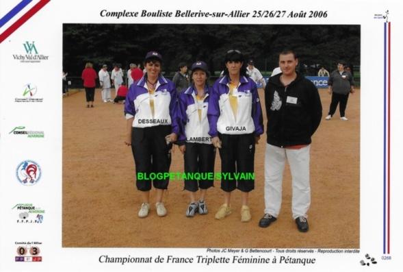 Les vices-champions mixtes du 06