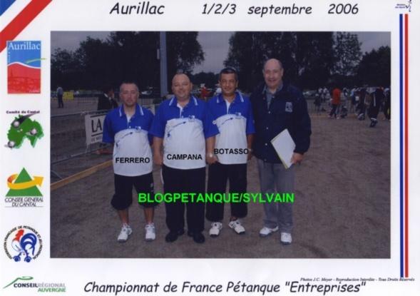 Les champions de France entreprises 2005