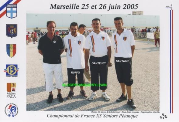 Les qualifiés triplettes ligue du 06