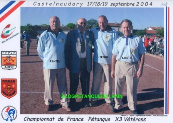 Les vices-champions vétérans du 06