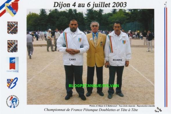 Les vices-champions doublettes du 06 qualifiés par la ligue