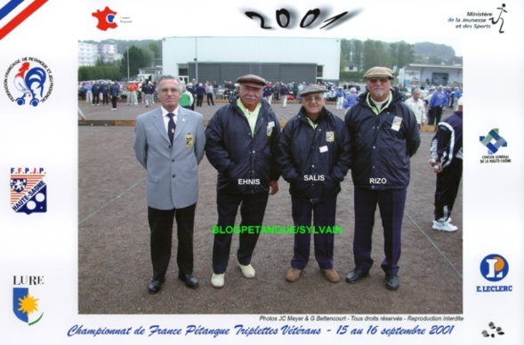 Les vices champions vétérans du 06