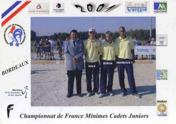 Les champions juniors du 06