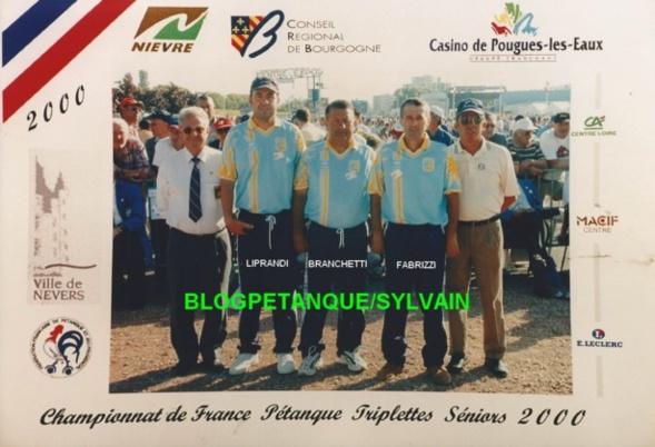 L'année 2000 à la Pétanque