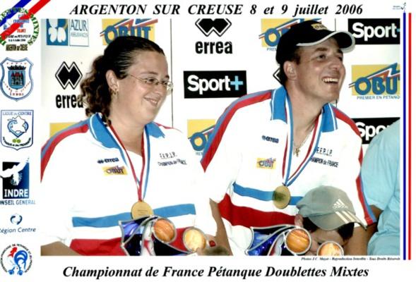 Les champions de France mixtes 2006 > Séverine ROCHE et Philippe SUCHAUD
