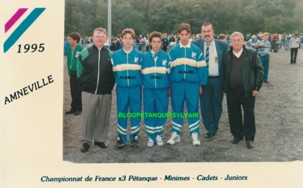 Les champions de France 1994 qualifiés d'office