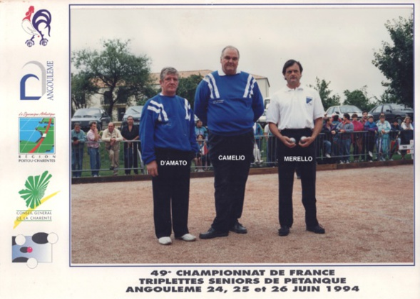 Les quarts finalistes triplettes du 06