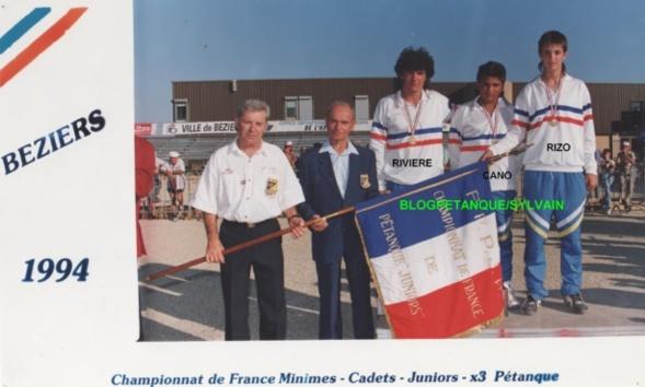 Les champions cadets du 06