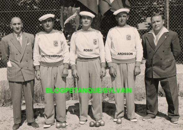 L'équipe de ARDISSON-ROSSI-SETTEMBRINO
