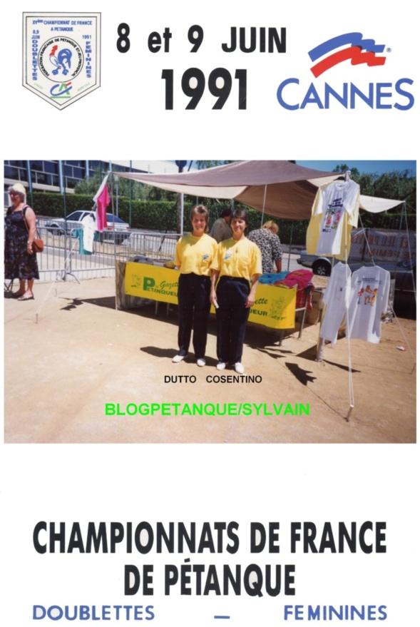 Les vices championnes doublettes du 06