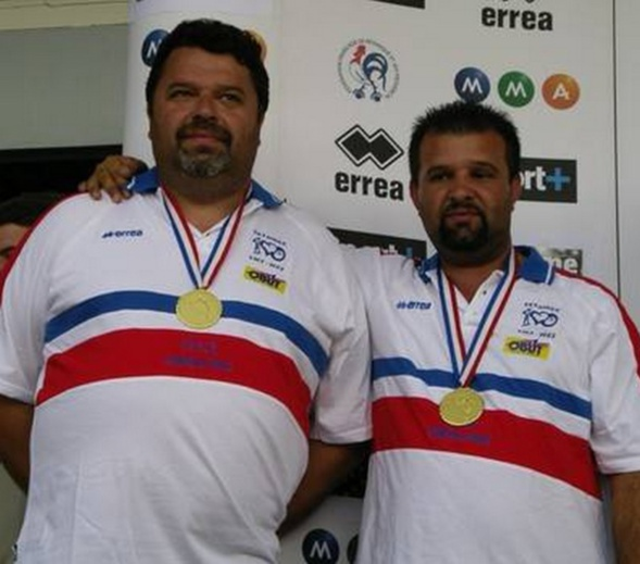 Les champions de France doublettes 2007 >Philippe QUINTAIS et Henri LACROIX
