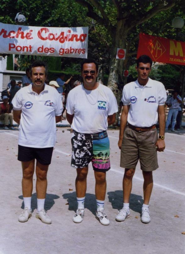 1991 à la place de l' étang à CANNES