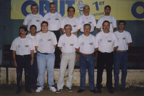 1994 le team du CAS