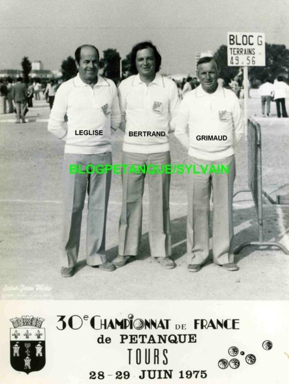 L'année 1975 à la Pétanque