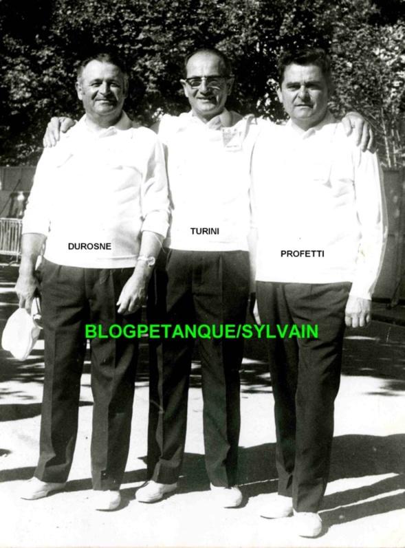 L'année 1970 au Jeu Provençal