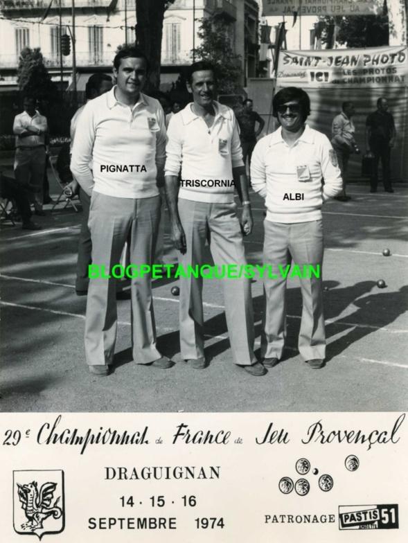 L'année 1974 au Jeu Provençal