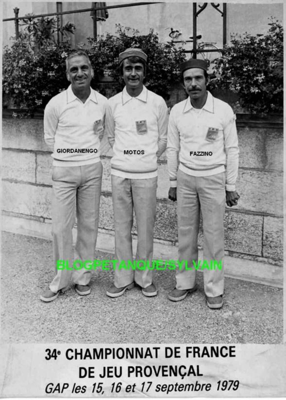L'année 1979 au Jeu Provençal