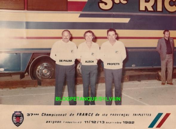 Les vices champions triplettes du 06