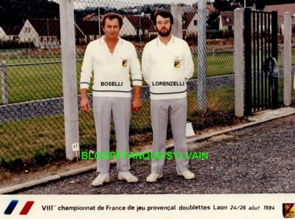 L'année 1984 au Jeu Provençal