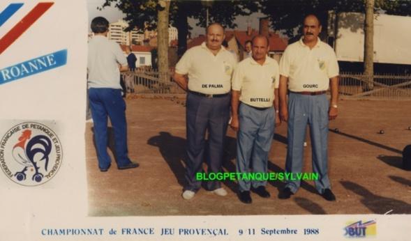 L'année 1988 au Jeu Provençal
