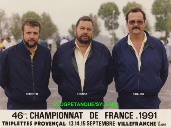 L'année 1991 au Jeu Provençal