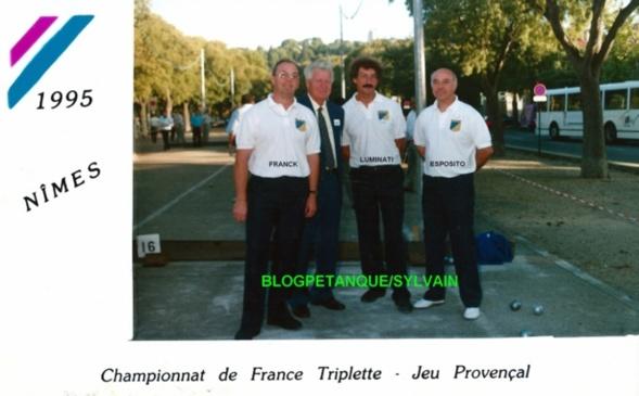 Les champions triplettes du 06