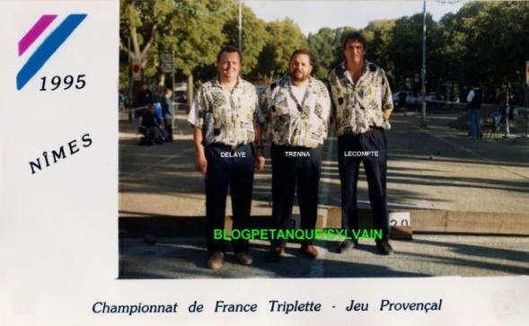 L'année 1995 au Jeu Provençal