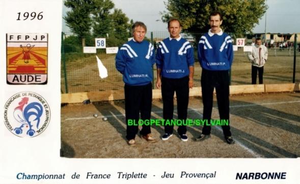 L'année 1996 au Jeu Provençal