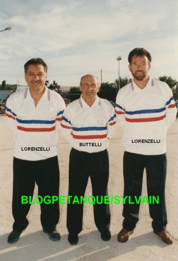 Les champions de France 1996 qualifiés d'office
