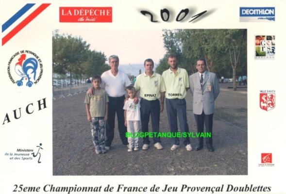 Les vices champions de France 2000 qualifiés d'office