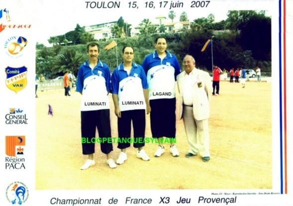 L'année 2007 au Jeu Provençal