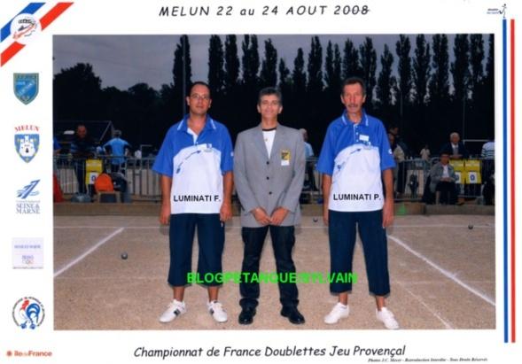Les vices champions doublettes du 06