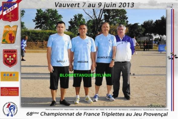 L'année 2013 au Jeu Provençal