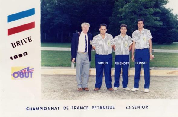 2ème participation à BRIVE en 1990 perdu en 1/64 contre ECKMANN - FOUILHE - BENTOLILA