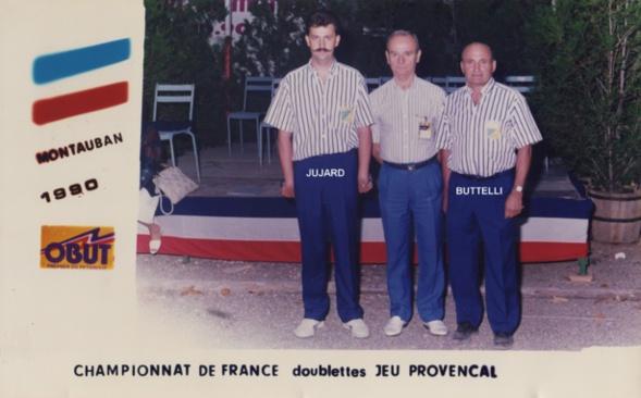1990 au championnat de France doublettes à MONTAUBAN