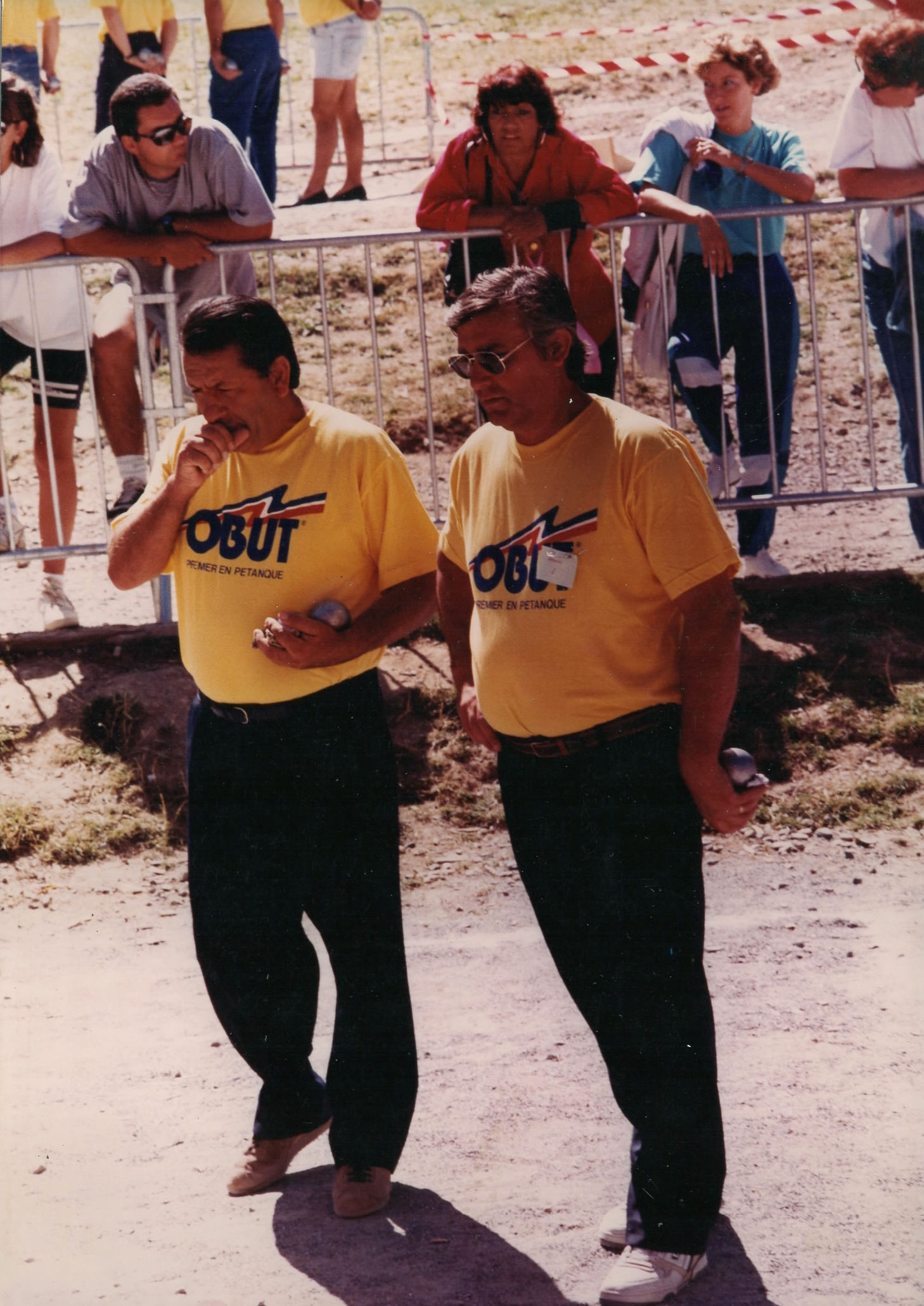 La doublette championne des Alpes-Maritimes 1992 Jean-Marc BRANCHETTI et Daniel ARMANDO