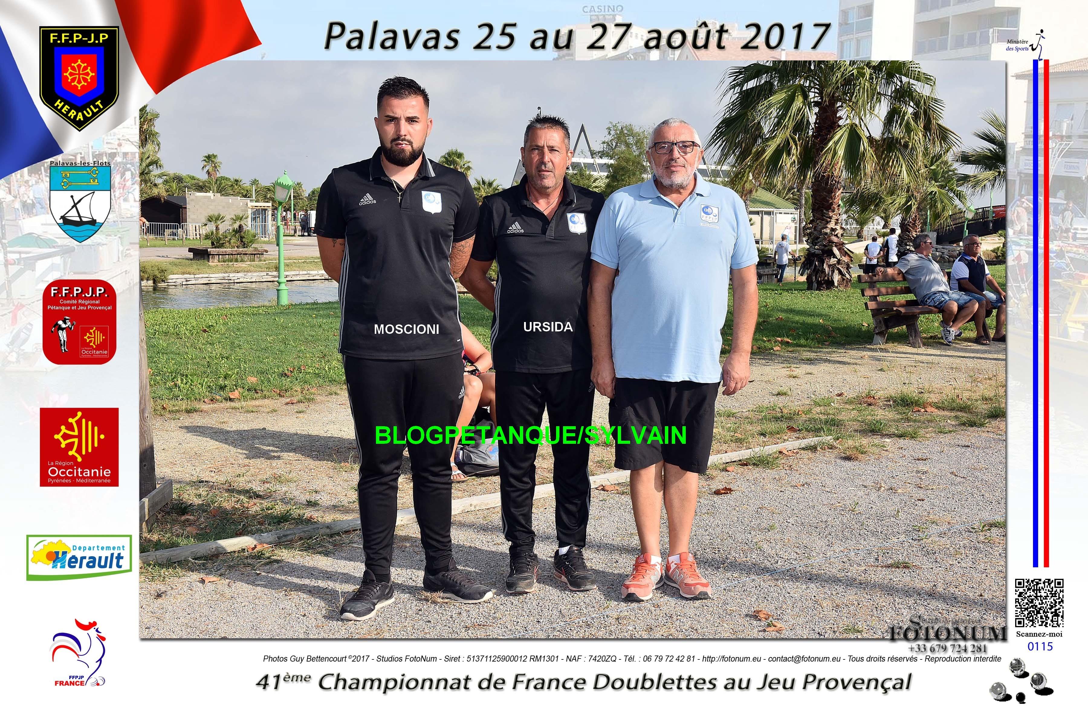L'année 2017 au Jeu Provençal